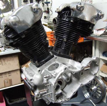 Complete motor rebuilds